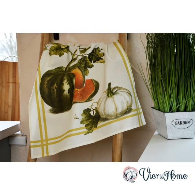 Кухонное полотенце WSI Спелая тыква 51см*76см 100% хлопок