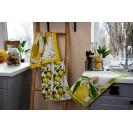 Кухонное полотенце WSI Спелые лимоны 40см*70см 100% хлопок